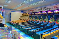 Pacific Park Pier, Santa Monica, CA, Ski-Ball, Skrrball, Amusements