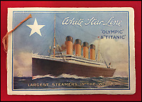 BNPS.co.uk (01202 558833)<br /> Pic: HAldridge/BNPS<br /> <br /> Incredibly rare illustrations and photos of the opulent surroundings of the Titanic have come to light in two brochures which describe the doomed ship as 'practically unsinkable.'<br /> <br /> The colour drawings depict the plush accommodation and facilities that first and second class passengers enjoyed on the luxury liner.<br /> <br /> They offer rare glimpses of the promenade deck, reading room, swimming baths, smoking room, main staircase, the Turkish bath, state room and parlour suit accommodation, dining room and reception room.<br /> <br /> Alongside the images there is an equally scarce copy of the sailing schedule for the doomed ship, highlighting its 'lost' trans-Atlantic service.<br /> <br /> The itinerary shows the Titanic would have gone on to make four trips from Southampton to New York between April to July 1912 had it not sunk on its maiden voyage with the loss of 1,522 lives.<br /> <br /> The two brochures and sailing schedule have now been put up for sale 105 years after the tragedy. They have a pre-sale estimate of a combined &pound;20,000.