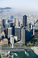 aerial photograph skyscrapers San Francisco