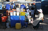 Snack stand in Potosi, Bolivia