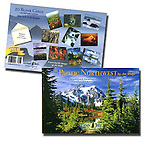 A wonderful blank card assortment featuring Art Wolfe photographs of the Pacific Northwest. 20 blank cards (with full color interiors!) and 22 envelopes.<br />