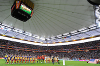 Opening ceremony during the FIFA Women's World Cup Final USA against Japan at the FIFA Stadium in Frankfurt, Germany on July 17th, 2011.