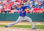 3 March 2016: New York Mets pitcher Stolmy Pimentel on the mound during a Spring Training pre-season game against the Washington Nationals at Space Coast Stadium in Viera, Florida. The Mets fell to the Nationals 9-4 in Grapefruit League play. Mandatory Credit: Ed Wolfstein Photo *** RAW (NEF) Image File Available ***