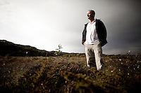 Kaptein Terje Kallevåg, foto til feature om Deepwater Horizon. Bømlo. 11.07.2010.  Foto: Christopher Olssøn.
