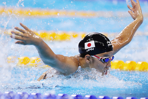 Miho Teramura (JPN), <br /> AUGUST 8, 2016 - Swimming : <br /> Women's 200m Individual Medley Semi-final <br /> at Olympic Aquatics Stadium <br /> during the Rio 2016 Olympic Games in Rio de Janeiro, Brazil. <br /> (Photo by Koji Aoki/AFLO SPORT)