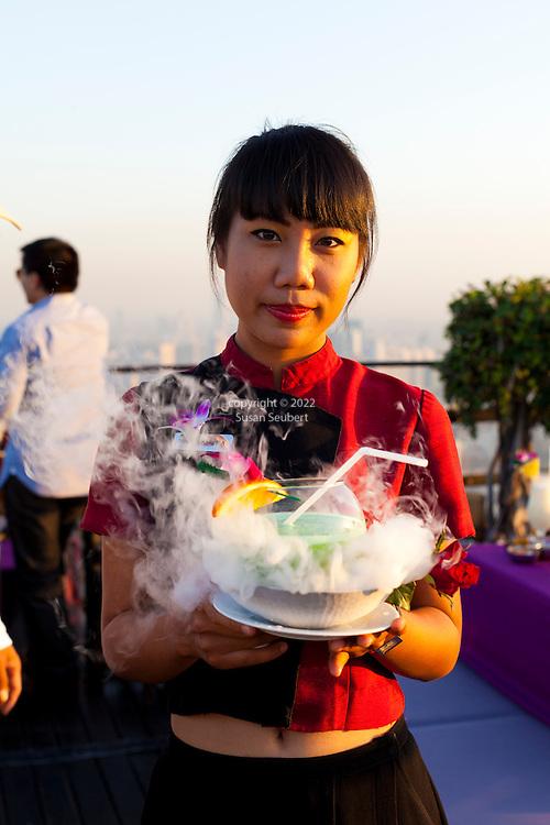 The Banyan Tree Moon Bar, Bangkok, Thailand | Commercial ...