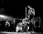 Creedence Clearwater Revival 1970 Tom Fogerty,Stu Cook, Doug Clifford and John Fogerty at Royal Albert Hall.© Chris Walter.