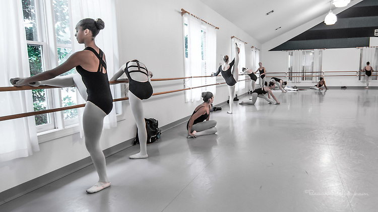 Summer Session I Final Day: <br /> Classes with visiting instructor Elizabeth Gaither and Rehearsal for Student Performance.
