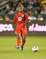 CARSON, CA – June 3, 2011: DC United defender Ethan White (15)  during the match between LA Galaxy and DC United at the Home Depot Center in Carson, California. Final score LA Galaxy 0, DC United 0.