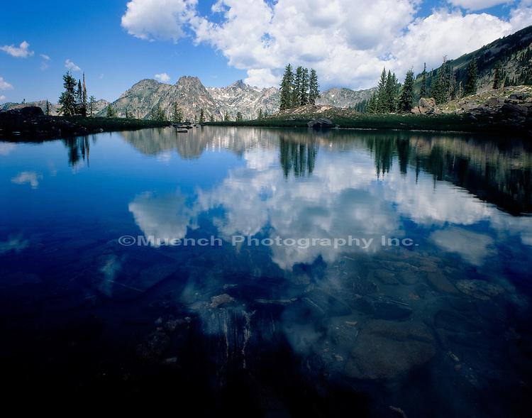 """""""Gilpin Lake, Mt. Zirkel   COLORADO"""" , Zirkel Wilderness"""