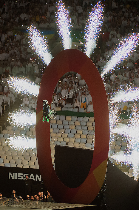 RIO DE JANEIRO - 7/9/2016:  Opening Ceremonies in Maracana at the Rio 2016 Paralympic Games. (Photo by Matthew Murnaghan/Canadian Paralympic Committee