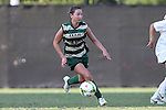 31 August 2014: UAB's Rachel Green. The Duke University Blue Devils hosted the University of Alabama Birmingham Blazers at Koskinen Stadium in Durham, North Carolina in a 2014 NCAA Division I Women's Soccer match. Duke won the game 3-1.
