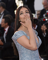 Aishwarya Rai Bachchan at the premiere for &quot;Okja&quot; at the 70th Festival de Cannes, Cannes, France. 19 May  2017<br /> Picture: Paul Smith/Featureflash/SilverHub 0208 004 5359 sales@silverhubmedia.com