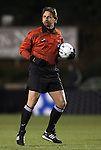 11 December 2009: Referee Alex Prus. The University of Akron Zips defeated the University of North Carolina Tar Heels 5-4 on penalty kicks after the game ended in a 0-0 overtime tie at WakeMed Soccer Stadium in Cary, North Carolina in an NCAA Division I Men's College Cup Semifinal game.
