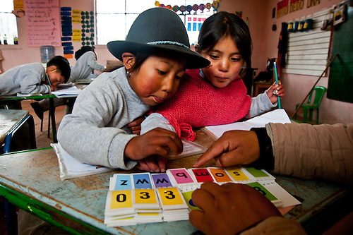 An innovative university program trains teachers to teach bilingual skills to indigenous children in Ecuador.
