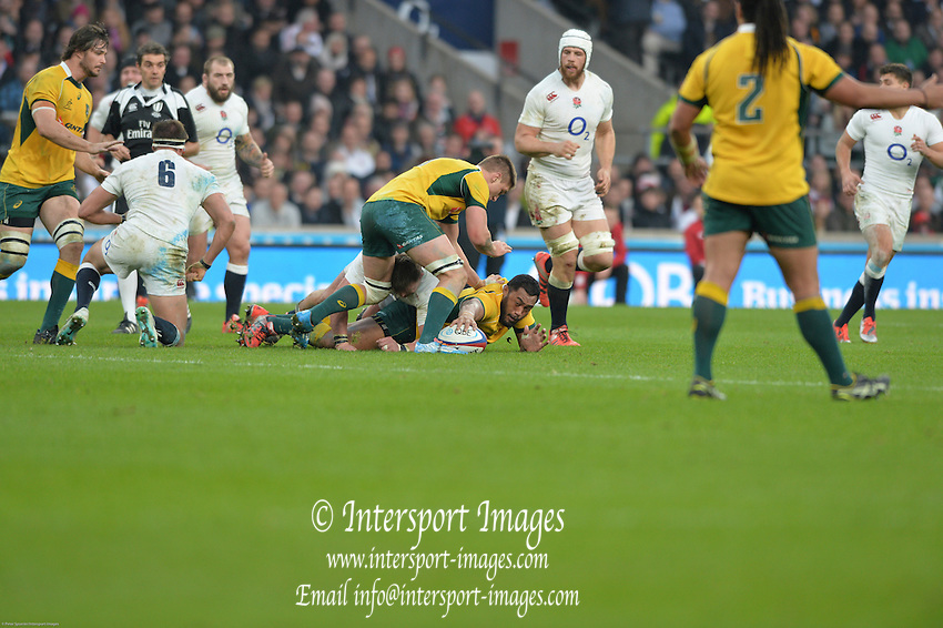 Twickenham, Great Britain, QBE Autumn International, England vs Australia, played at the RFU Stadium, Twickenham, ENGLAND. 15:41:43   Saturday  29/11/2014  [Mandatory Credit; Peter Spurrier/Intersport-images]