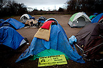 The SafeGround camp in Sacramento, Calif., January 14, 2011.