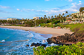 Wailea Beach fronting Four Seasons and Grand Wailea Beach Resorts, Maui