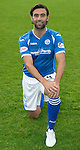St Johnstone FC Photocall, 2015-16 Season....03.08.15<br /> Simon Lappin<br /> Picture by Graeme Hart.<br /> Copyright Perthshire Picture Agency<br /> Tel: 01738 623350  Mobile: 07990 594431