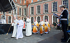 Sept. 1, 2012; Mass of Thanksgiving at Dublin Castle in Ireland. Photo by Barbara Johnston/University of Notre Dame