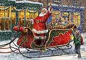 Christmas - Classical Santas paintings