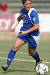 03 July 2008: Charlotte's Lydia Vandenbergh. The Charlotte Lady Eagles defeated the Carolina Railhawks Women 3-0 at WakeMed Stadium in Cary, NC in a 2008 United Soccer League W-League regular season game.