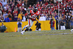 Ole Miss defensive back Senquez Golson (21) intercepts vs. LSU at Tiger Stadium in Baton Rouge, La. on Saturday, November 17, 2012. LSU won 41-35.....