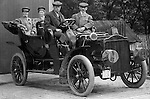 Product: Buick Model F<br /> Manufacturer: Buick Auto-Vim and Power Company,<br /> <br /> McKeesport PA: Friends of Brady Stewart ready for ride in his new Buick Model F - 1906.