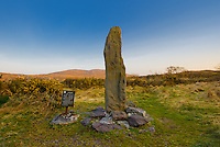 Ogham Stone Caherdaniel Co. Kerry, Ireland / dr061