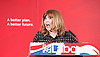 Labour Party Education manifesto launch at Microsoft, London, Great Britain <br /> 9th April 2015 <br /> <br />  General Election Campaign 2015 <br /> <br /> Maggie Philbin <br /> <br /> <br /> Photograph by Elliott Franks <br /> Image licensed to Elliott Franks Photography Services