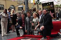LOS ANGELES - MAY 2:  Jeremy Renner, Scarlett Johansson, Clark Gregg, other Avenger Friends at the Scarlett Johansson Star Walk of Fame Ceremony at Hollywood Boulevard on May 2, 2012 in Los Angeles, CA