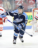 Christopher Hahn (Maine - 37) - The Boston University Terriers defeated the University of Maine Black Bears 1-0 (OT) on Saturday, February 16, 2008 at Agganis Arena in Boston, Massachusetts.