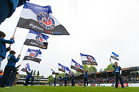 A general view of the pre-match guard of honour. Aviva Premiership match, between Bath Rugby and Gloucester Rugby on April 30, 2017 at the Recreation Ground in Bath, England. Photo by: Patrick Khachfe / Onside Images