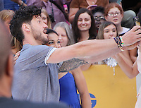NEW YORK, NY-August 29: Valentin Chmerkovskiy, at Good Morning America to talk about new season of Dancing with the Stars in New York. August 29, 2016. Credit:RW/MediaPunch