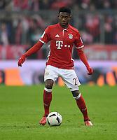Fussball  1. Bundesliga  Saison 2016/2017  16. Spieltag  FC Bayern Muenchen - RB Leipzig        21.12.2016 David Alaba (FC Bayern Muenchen)