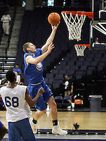G/F Matt Gatens (Iowa City, IA / Iowa City) shoots the ball during the NBA Top 100 Camp held Thursday June 21, 2007 at the John Paul Jones arena in Charlottesville, Va. (Photo/Andrew Shurtleff)