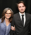 Sally Field and son Samuel Greisman attend The Actors Fund Annual Gala at the Marriott Marquis on 5/8//2017 in New York City.
