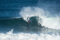 MARGARET RIVER, Western Australia/AUS (Sunday, April 9, 2017) Filipe Toledo (BRA) - The final day of competition at the Drug Aware Margaret River Pro, Stop No. 2 of the World Surf League (WSL) Championship Tour (CT), commenced with the men&rsquo;s Quarterfinals, Semifinals and Final called ON for a 7:05 a.m. start. The remaining competitors battled it out in clean six-to-eight foot plus (2 - 2.5 metre) waves at Main Break.<br /> With John John Florence already through to the final a shark scare put the contest on hold during the second semi final between Filipe Toledo (BRA) and Kolohe Andino (USA).<br />  <br /> Photo: joliphotos.com