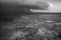 South Darfur, August 10, 2004.The rainy season has started in earnest in the region, soaking the soil, isolating many villages and rendering humanitarian operations extremely difficult.