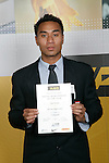 Boys Volleyball winner Sam Tu'ivai. ASB College Sport Young Sportperson of the Year Awards 2007 held at Eden Park on November 15th, 2007.