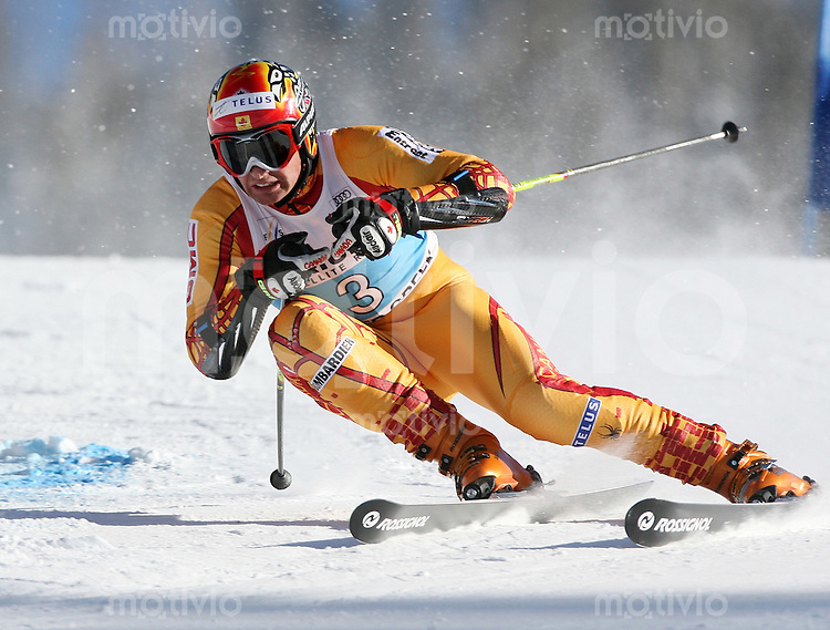 Ski Alpin; Saison 2006/2007  Riesenslalom Herren Thomas Grandi (CAN)