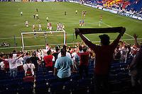 HARRISON, NJ - Wednesday June 24, 2015: The New York Red Bulls defeat Real Salt Lake 1-0 at home at Red Bull Arena in regular season MLS play.