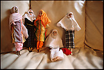 Razanne dolls are a Muslim-American alternative to Barbie. Dearborn, Michigan, USA, February 2002