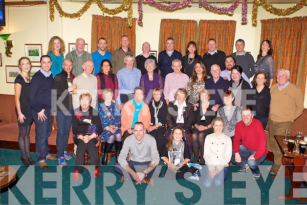 40TH ANNIVERSARY: The residents of Derrylea estate, Tralee celebrating the 40th anniversary of the estate with a party at the Na Gaeil clubhouse Friday.