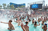 Wet Republic Beach Club at MGM Casino and Resort. Las Vegas, Nevada, USA
