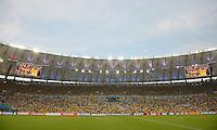 FUSSBALL WM 2014                ACHTELFINALE Kolumbien - Uruguay                  28.06.2014 Maracanar-Stadion in Rio de Janeiro