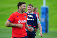 David Wilson of Bath Rugby looks on. Bath Rugby pre-season skills training on June 21, 2016 at Farleigh House in Bath, England. Photo by: Patrick Khachfe / Onside Images