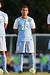 28 August 2015: North Carolina's Nico Melo. The University of North Carolina Tar Heels hosted the Florida International University Panthers at Fetzer Field in Chapel Hill, NC in a 2015 NCAA Division I Men's Soccer match. North Carolina won the game 1-0