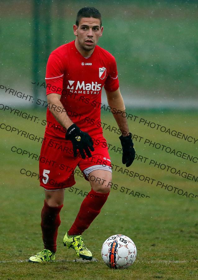 Marko Docic Super liga Srbije, Superliga, fudbal, Rad - Javor (Ivanjica)  Novembar 28. 2015. Beograd, Srbija, 28.11.2015.  (credit image & photo: Pedja Milosavljevic / STARSPORT)