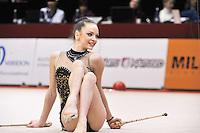 "February 9, 2014 - Tartu, Estonia - RADINA FILIPOVA of Bulgaria performs at ""Miss Valentine 2014"" international tournament."